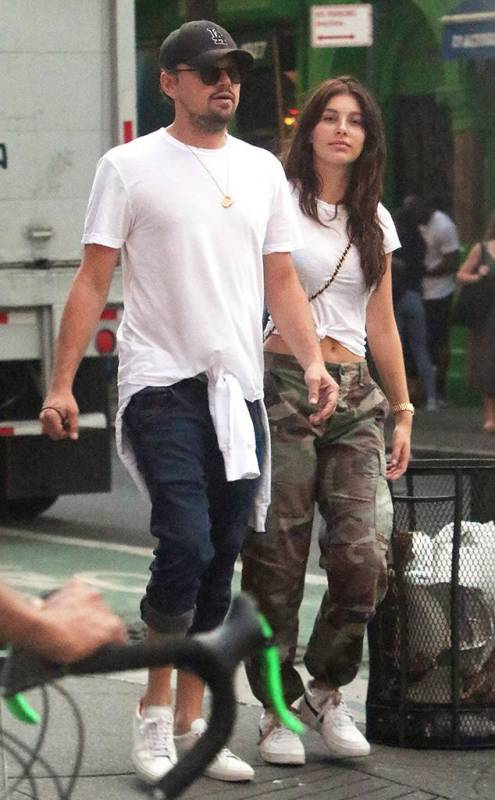 Leonardo-DiCaprio With His Girlfriend Camila Morrone