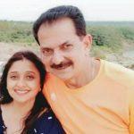 Malavika Avinash with her husband Avinash Yelandur