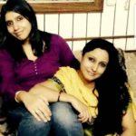 Maleeka R Ghai with her sister
