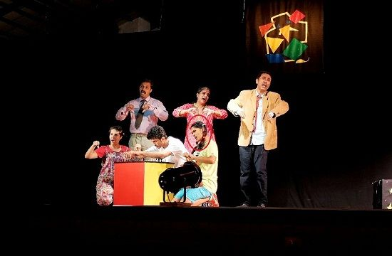 Manjiri Pupala in 'The Boy Who Stopped Smiling' play