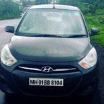 Manjiri Pupala's Hyundai car