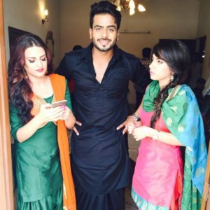 Mankirt Aulakh with Himanshi Khurana and JazZ Mangat