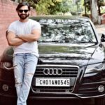 Nav Bajwa with his car