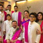 Nitin Mukesh's Family