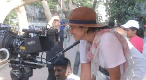 Pia Sukanya working as a film director