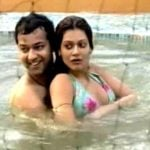 Rahul Mahajan with Payal Rohatgi
