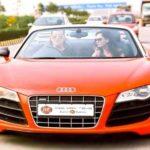 Rahul Mahajan's Audi R8 car
