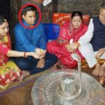 Veena Singh with her family