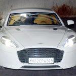 Ranveer Singh's Aston Martin Rapide S