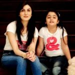 Riddhima Kapoor with her daughter Samara Sahni