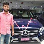 Rishabh Pant - Mercedes-Benz GLC