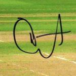 Rishabh Pant's Signature