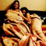 Srishti Shrivastava's mother and sister Siddhi Shrivastava