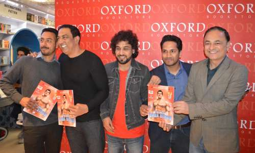 The book launch of The Epic Journey of the Great Dara Singh