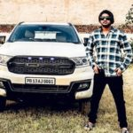 Vadda Grewal with his car