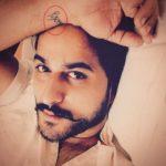 Veer Rajwant Singh's Nirbhau tattoo