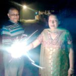 Vinod Agarwal With His Wife