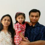 Vinod Agarwal's Daughter, Son-in-Law, and Granddaughter