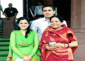 Virbhadra Singh's Wife, Daughter, and Son
