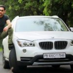 Yaad Grewal with his car