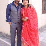 Yaad Grewal with his wife