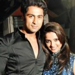 Adaa Khan with Ankit Gera