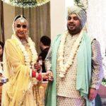 Additi Gupta and Kabir Chopra's marriage photo