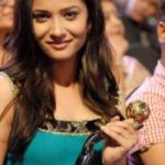 Ankita Lokhande With 3rd Boroplus Gold Award
