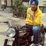 Deep Kalsi on his bike