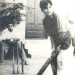 Dilip Kumar's Playing Cricket