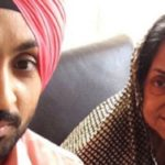 Diljit Dosanjh and his mother