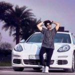 Diljit Dosanjh's With His Porsche Panamera