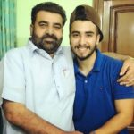Guri Singh with his father