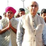 Jaswant Singh with his Son, Manvendra Singh