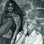 Jaswant Singh with his Wife