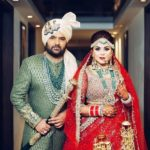Ginni Chatrath and Kapil Sharma's marriage photo