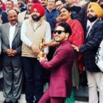 Karan Randhawa- honoured by the SDM and the MLA in 2018