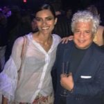 Suhel Seth with his wife Lakshmi Menon