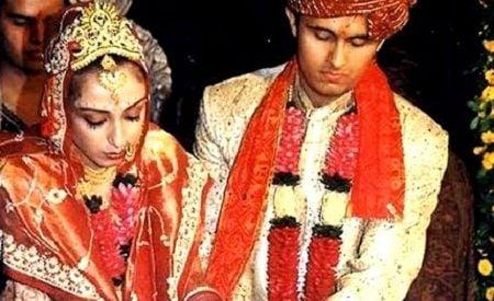 Madhurima Nigam and Sonu Nigam marriage picture