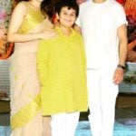 Madhurima Nigam with her husband Sonu Nigam and son Nevaan Nigam