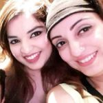 Madhurima Nigam with her sister Chandrima Misra