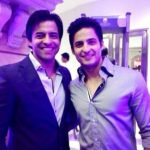 Mohit Malhotra with his brother Himanshu Ashok Malhotra