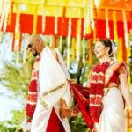 Natalie Di Luccio and Raghu Ram's marriage photo