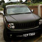 Nicholas Pooran's car