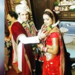 Parul Chauhan and Chirag Thakkar's marriage photo