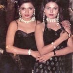 Rakhi Sawant With Her Sister