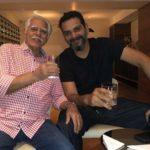 Ritesh Sidhwani with his father