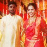 Sanju Samson and Charulatha's marriage photo