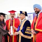 Sarvapriya Sangwan Receiving Her Degree At The Convocation