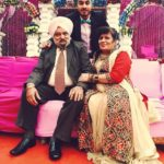 Singhsta with his parents